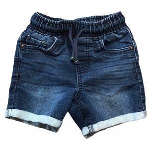 Cat & Jack Elastic Drawstring Denim Shorts - SZ2T